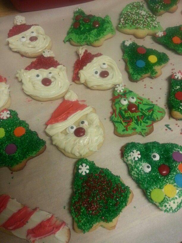 Christmas cookie baking fun!