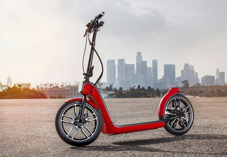 Le Mini Citysurfer Concept est une trottinette électrique imaginée par BMW