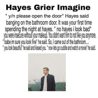 Hayes Grier Imagines 2015