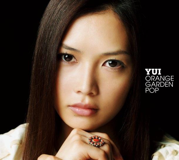 YUI「ORANGE GARDEN POP」初回限定盤ジャケット