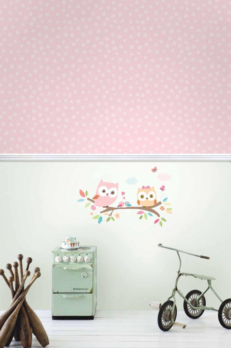 Wallsticker - Lechuzas - Papel de parede