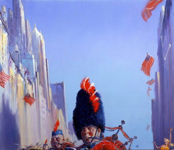 Paintings by David FeBland, Represented by the Fraser Gallery of Bethesda, Greater Washington, DC