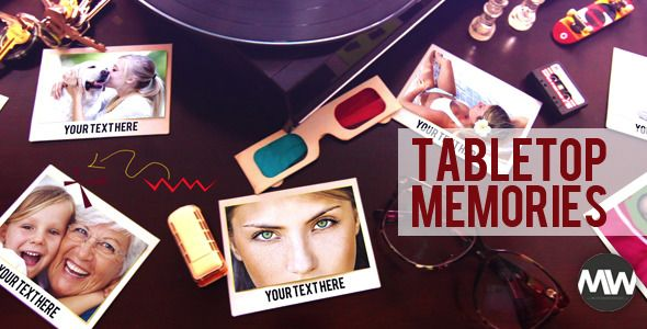 Photographs and Memories Tabletop
