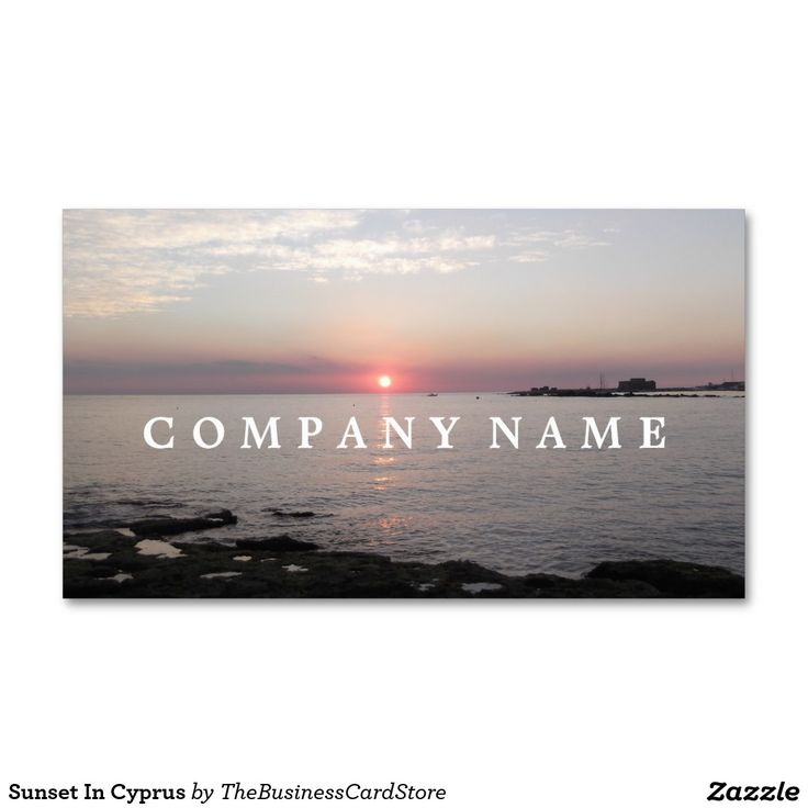 19 best cypriot and greek business cards from the business card sunset in cyprus business card reheart Image collections