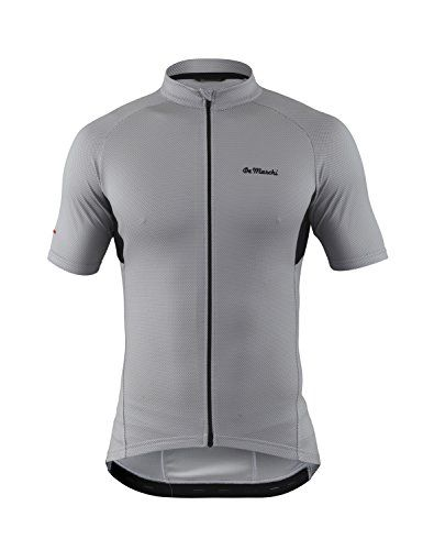De Marchi Mens Corsa Jersey Silver Large -- Check out the image by visiting  the 38239bd55