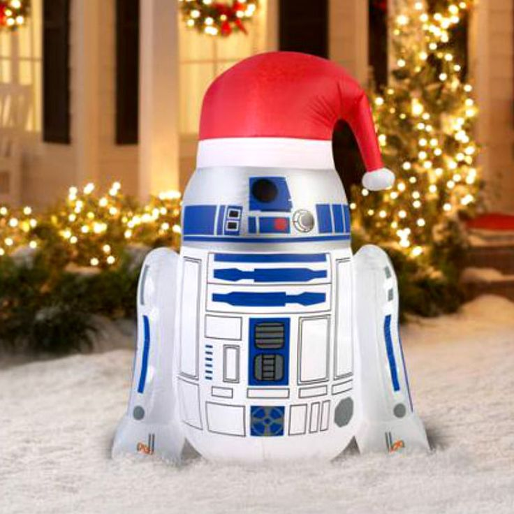 Inflatable Airblown Christmas Star Wars Lawn Decor Yard Outdoor Decoration NEW**