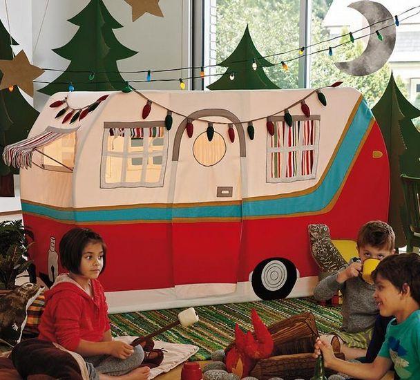 Gezellig kamperen in eigen huis