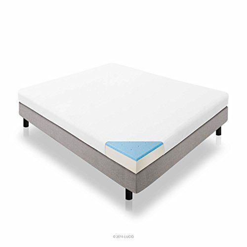 lucid 10 inch plush memory foam mattress duallayered certipurus certified warranty queen plush memory foam this mattress has a medium