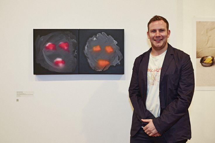 FAC Print Award 2013 supported by Little Creatures Brewing. Opening night photos. Alex Maciver (WA) winner of the $15,000 Acquisitive Prize.