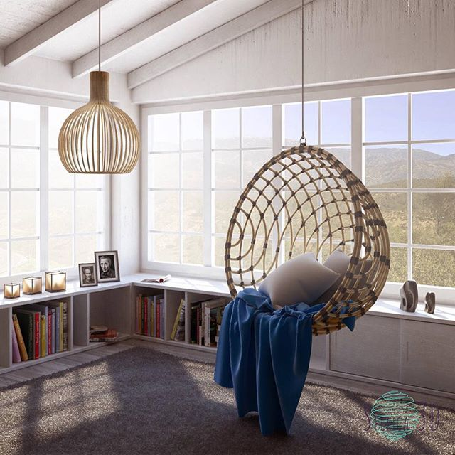 12 Trendy Modern Hanging Chairs Ideas For Your Home
