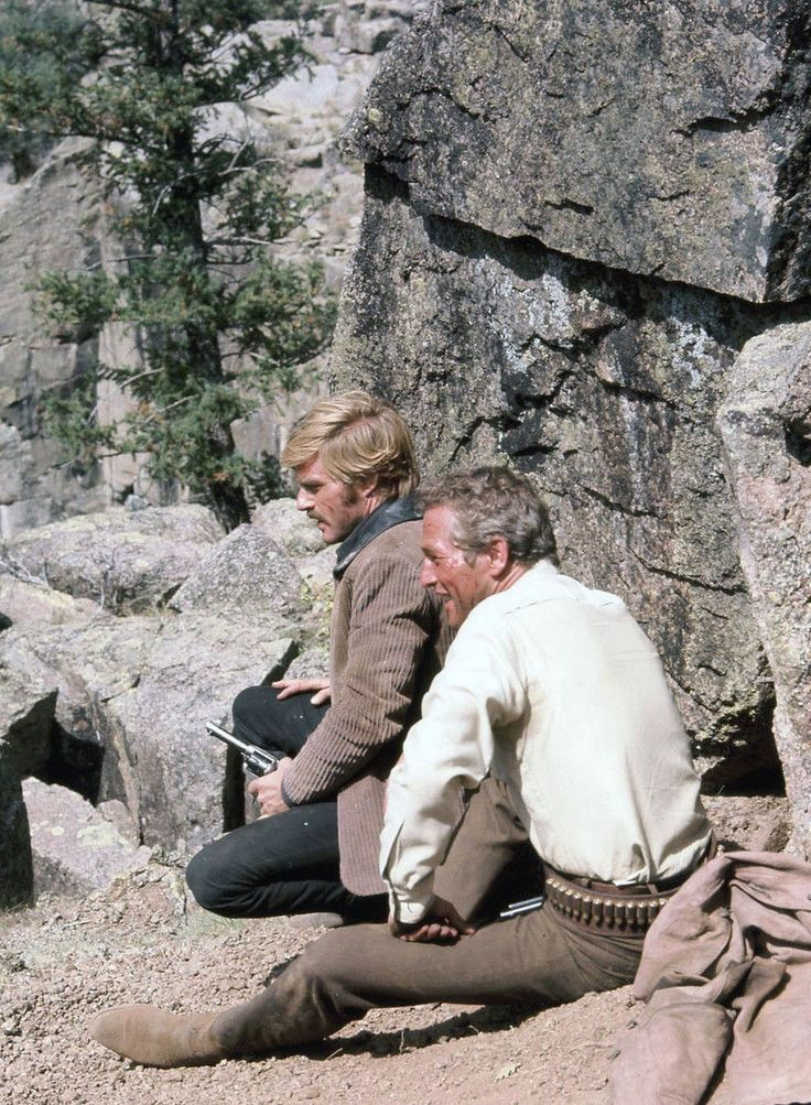 Robert Redford and Paul Newman, Butch Cassidy and the Sundance Kid (1969)