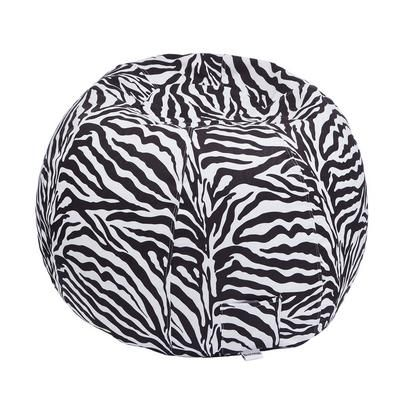 Adult Size Animal Print Beanbag