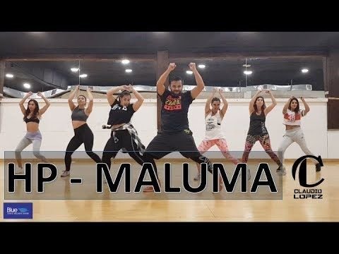 hp  maluma / zumba  youtube in 2020  zumba routines