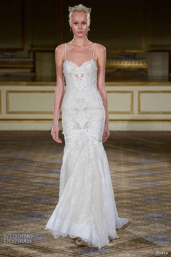 Berta Bridal Fall 2016 Wedding Dresses