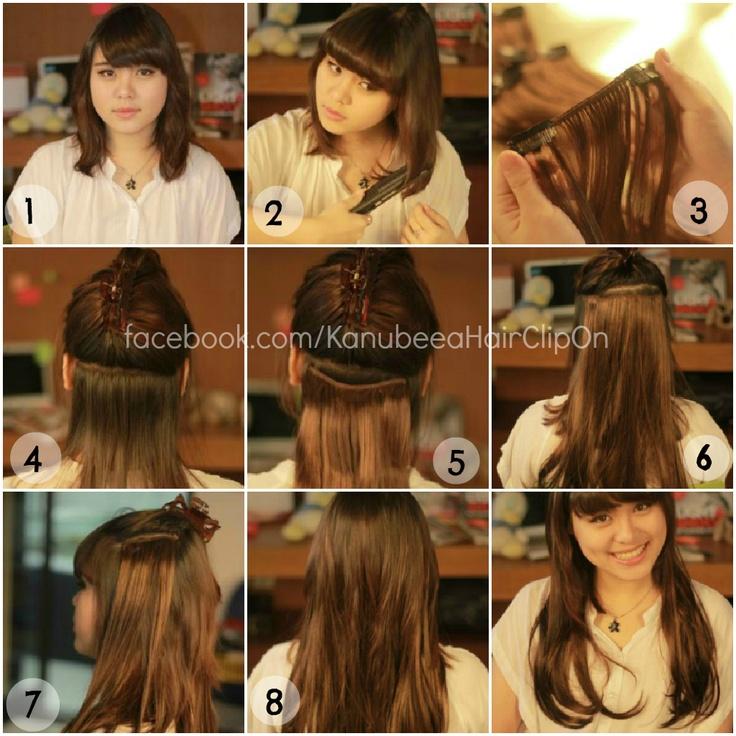 How To Use, Cara Pasang, Tutorial, DIY, Hair Clip Murah