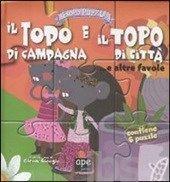 #Esopo puzzle. il topo di campagna e il topo editore Ape junior  ad Euro 5.02 in #Ape junior #Libri libri per ragazzi libri