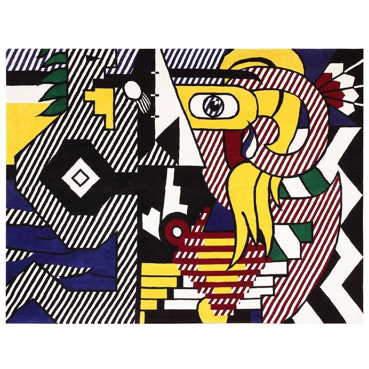 Pop Art Rug by Roy Lichtenstein