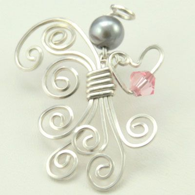 Kelsi's Closet Jewelbox Design Journal: New Pendants and a couple of angels