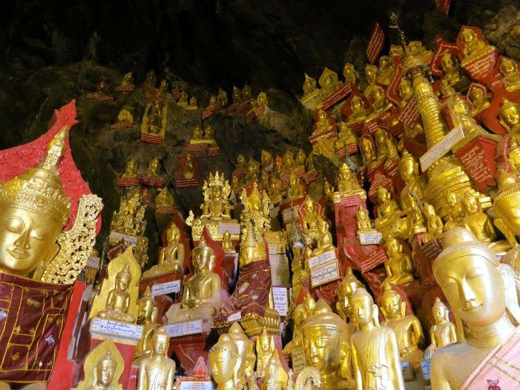 Pindaya Caves Buddhas