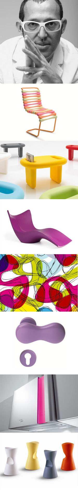 More than 150 products designed by Karim Rashid on line on #archiproducts #design #rashid