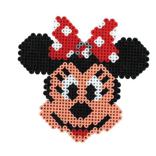 disney minnie mouse hama perler perler bead designs pinterest perler beads minnie mouse. Black Bedroom Furniture Sets. Home Design Ideas