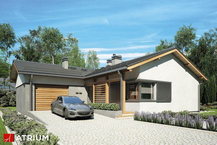 Projekt Koliber - elewacja domu