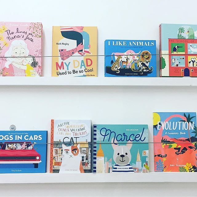 – Claude & Co. Flying Eye books. Range of inspiring and fun books for little ones to want to read over and over again.