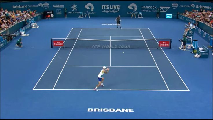 Nicolas Mahut shocked by Pierre-Hugues Herbert error ● Brisbane 2017