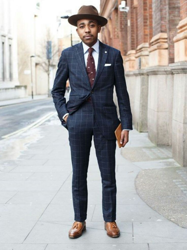 Guide to Wearing Men's Hats With Suits | Mens dress hats ...
