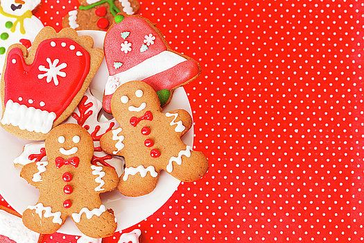 Christmas homemade gingerbread cookies by Nadya&Eugene Photography #Xmas #Cookies #NadyaEugene