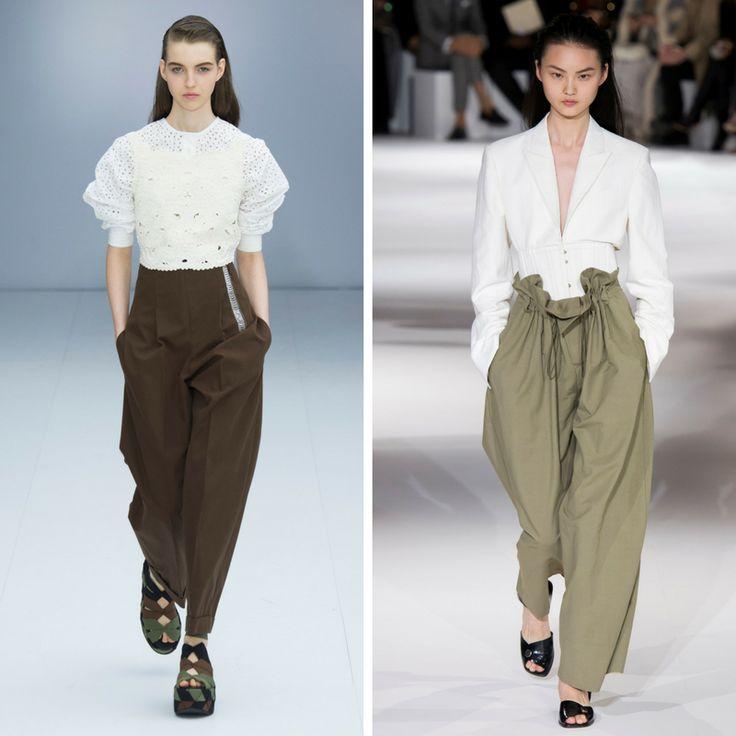 Модные брюки 2017 фото