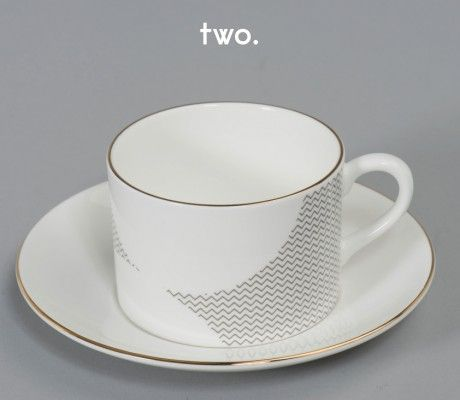 Simple elegant and modern cup