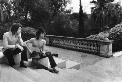 Keith Richards and Charlie Watts Picture By Dominique Tarle