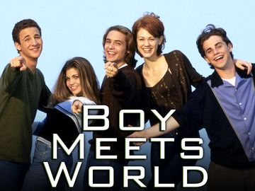 Boy Meets World- Always going to be a favorite.
