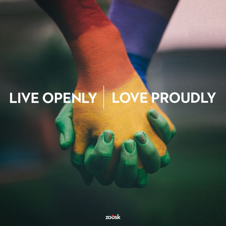 Live Openly. Love Proudly. Happy Gay Pride Month!