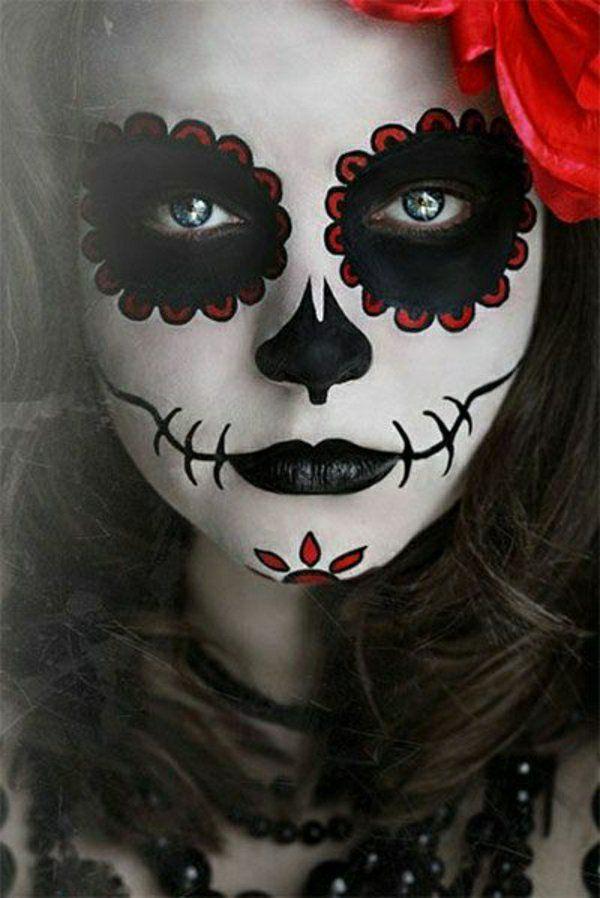 suivez le tuto du maquillage de Halloween artistique