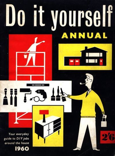 15 best vintage book covers images on pinterest vintage books do it yourself annuals 1960 handmade solutioingenieria Gallery
