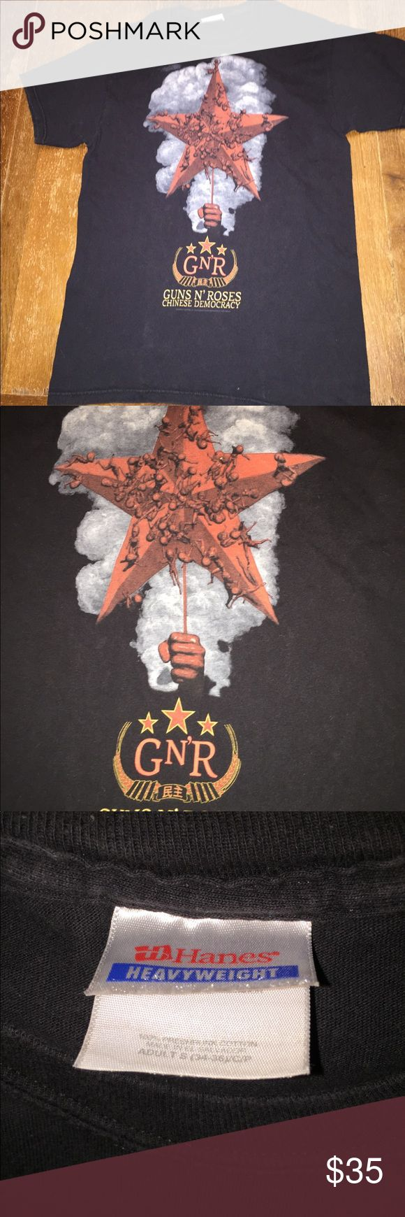 Guns and Roses vintage concert T Shirt In good condition Concert Shirts Tees - Short Sleeve