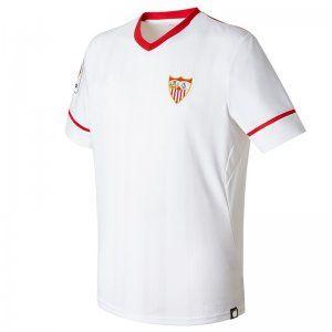 Sevilla FC 2017-18 Season Home Los Nervionenses Shirt [K646]