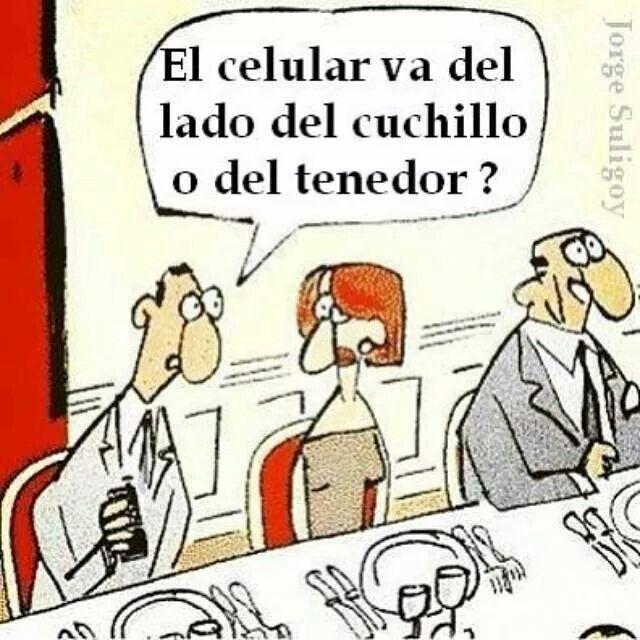 Etiqueta social siglo xxi :)