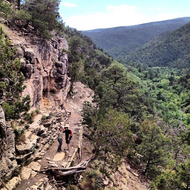 Sandia Man Cave Trail. New Mexico Landscape. @morgpet-#statigram