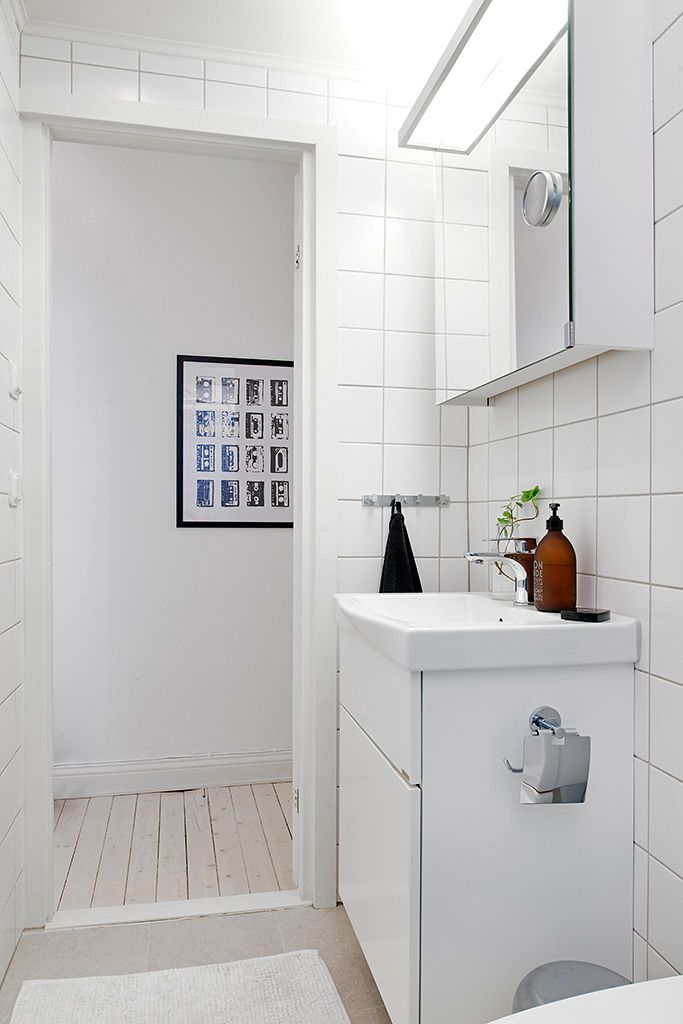 Inspiring Homes: White and Grey in Sweden | Nordic Days