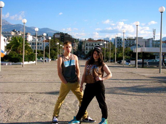 Bboy Mugi & Chrysa Stam. !