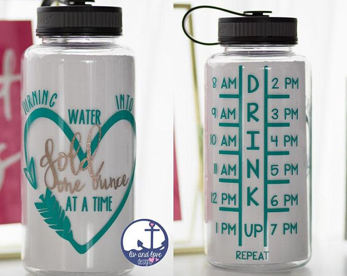 Turning Water Into Gold One Ounce At A Time Breastfeeding Water Bottle Motivational Water Bot Motivational Water Bottle Bottle Inspirational Water Bottle