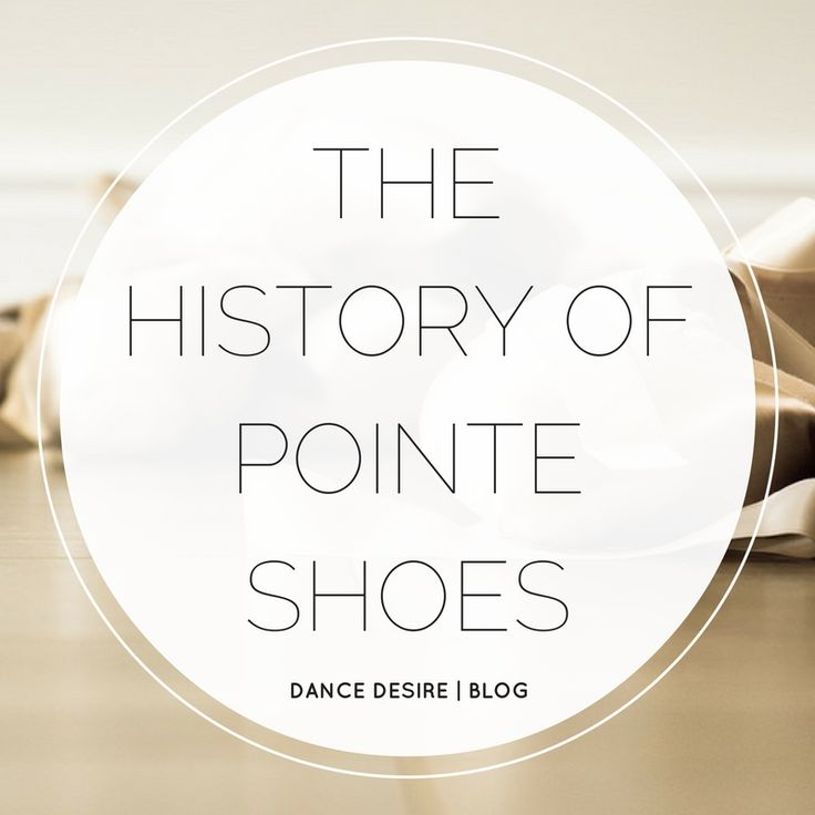 The pointe shoe is synonymous with all styles of ballet and is an essential in any ballerina's dance bag. As amateur and professional dancers go through dozens of pairs of pointe shoes per year, many of us take them for granted. However, you may be surprised to learn of the iconic footwear's long, intriguing history.