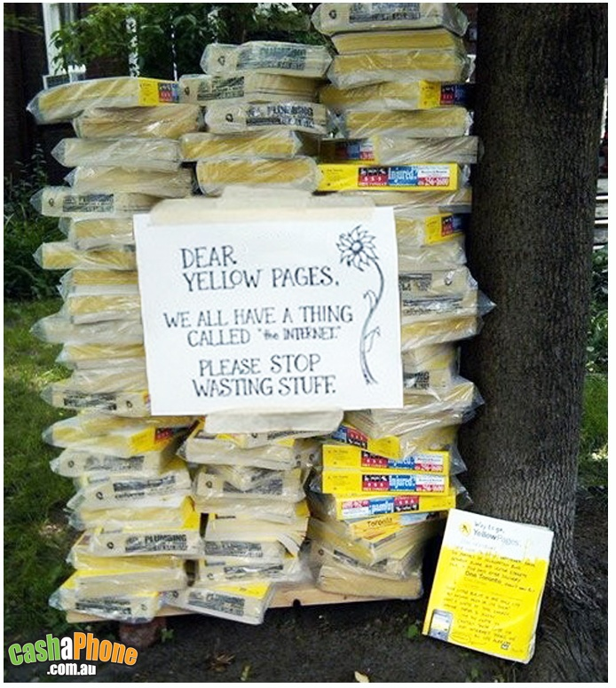 stop the yellow pages waste