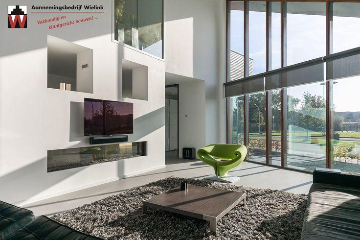 25 best moderne woning of villa met lessenaarsdak for Interieur villa moderne