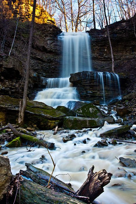Billy Green Falls, Hamilton, Ontario, Canada; photo by Craig Brown