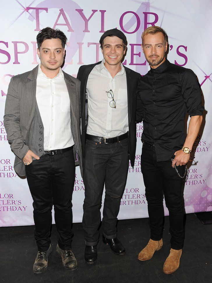 Pin for Later: Celebrity Siblings You Probably Didn't Know About Joey, Matthew, and Andrew Lawrence