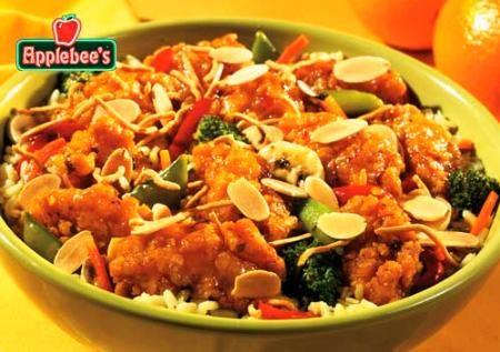 Applebee's crispy orange chicken bowl!